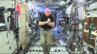 Space Station Commander Talks About View of Space from New Perspective