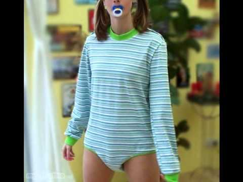 Adult diaper girl being a baby! from YouTube · Duration:  16 seconds