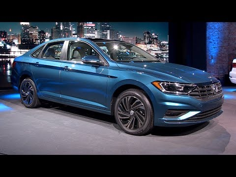 All-New 2019 VW Jetta--DETROIT AUTO SHOW