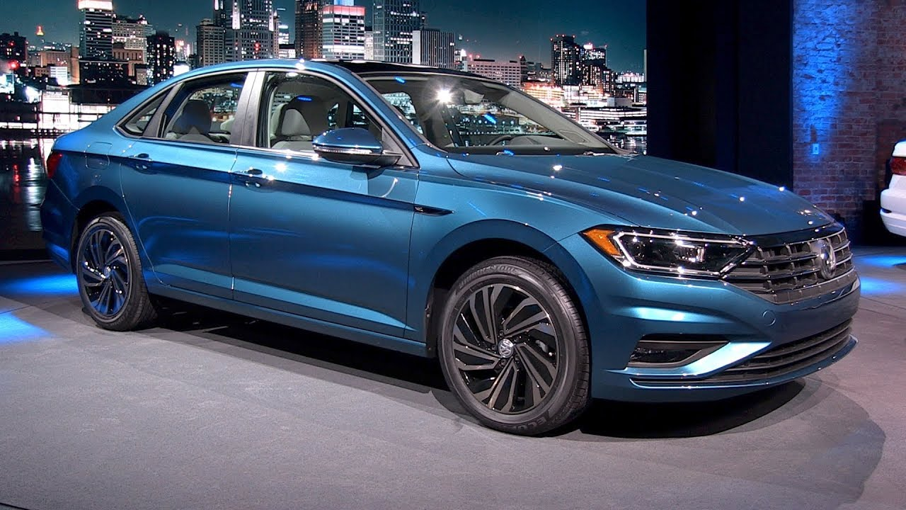 all new 2019 vw jetta detroit auto show youtube. Black Bedroom Furniture Sets. Home Design Ideas