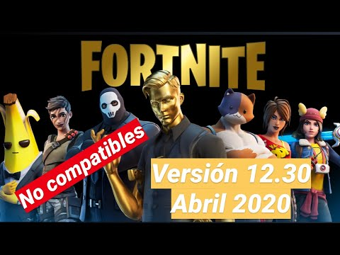 AQUI DESCARGA FORTNITE 2 VERSION 12.30 ANDROID DISPOSITIVOS NO COMPATIBLES | EXPLICADO ABRIL 2020