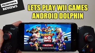 FaceBreaker K.O. Party Gameplay Android Dolphin GC/Wii Emulator test/Wii games