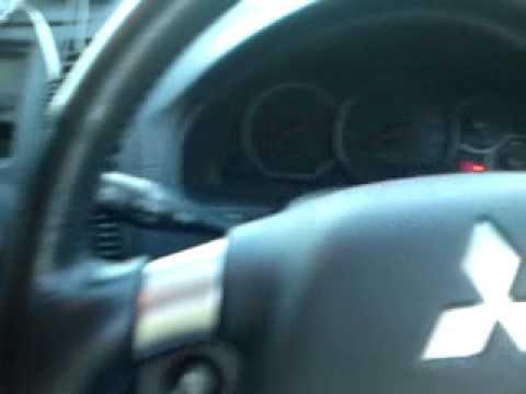 A Mitsubishi Grandis