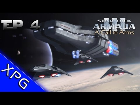 Lets Play...Star Trek Armada 3: A Call to Arms - Romulan Front Ep.4