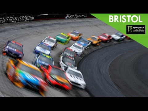 NASCAR results at Bristol: Denny Hamlin holds off Matt DiBenedetto to win NRA Night Race