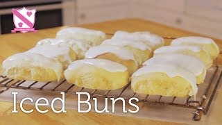 Easter Favorite - Paul Hollywood Iced Bun Recipe