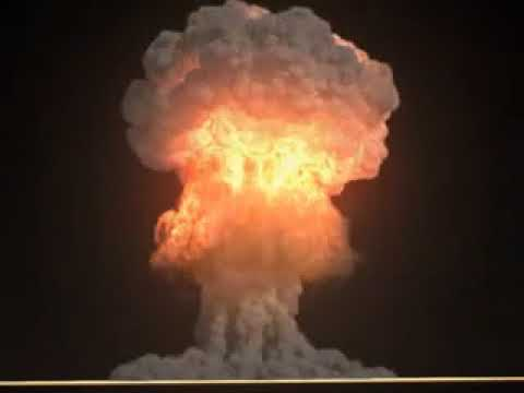 Nuclear Explosion Footage - Real! True nuclear bomb ...