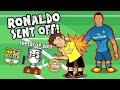 Ronaldo kırmızı kart barcelona 1 3 real madrid parodi süper kupa 2017 mp3