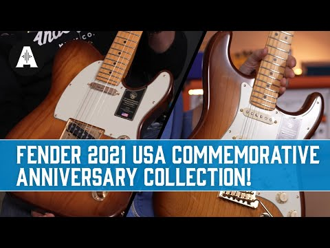 Celebrating 75 Years of Fender Guitars! - New USA Anniversary Collection