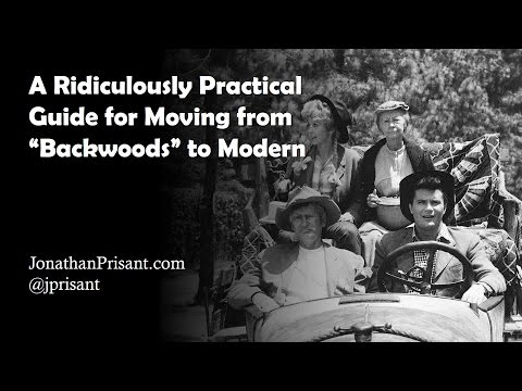 """A Ridiculously Practical Guide for Moving [a Software Company] from """"Backwoods"""" to Modern"""