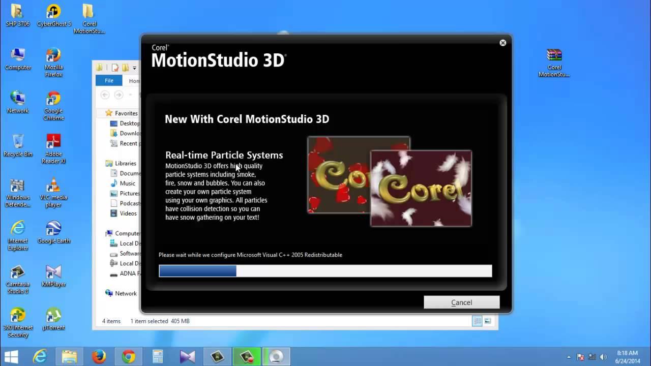 Corel motionstudio 3d serial key