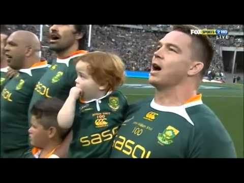 Springboks National Anthem 2010 Johannesburg - One Word - Magic