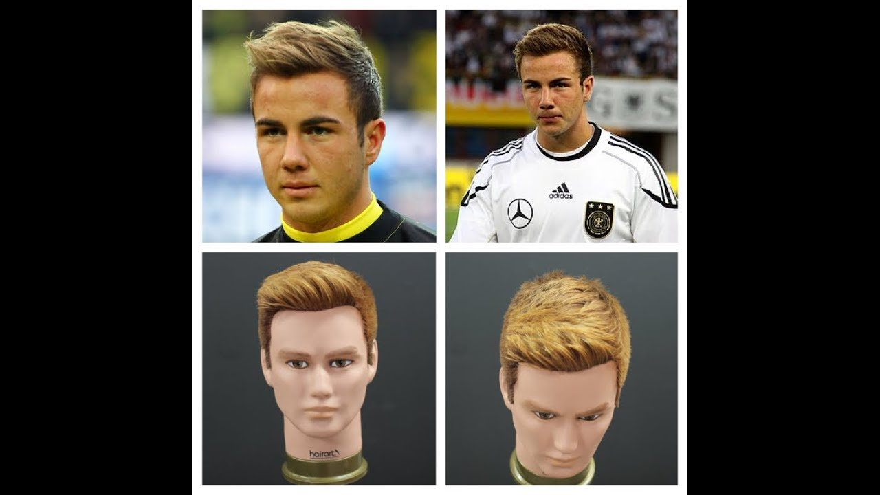 Mario Gotze Haircut Hairstyle Tutorial Thesalonguy Youtube