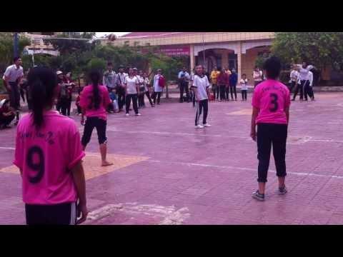 [Bóng chuyền nữ ] Trường THPT Phú Tân