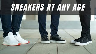 How To Wear Sneakers At Any Ag…