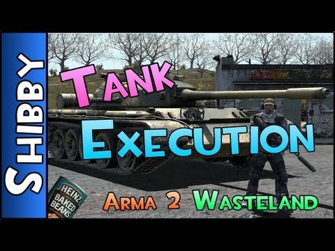 Day Z & ARMA - WASTELAND - TANK MISSION EXECUTION (Armor Gameplay Commentary)