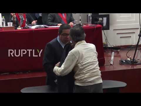 Peru: Ex-leader Fujimori attends court hearing over 1992 massacre