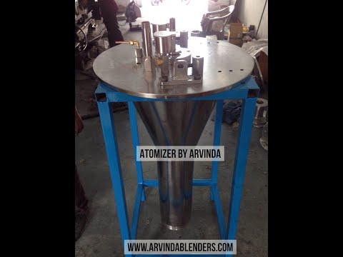 Atomizer for Spray Dryer by Arvinda Industries, Ahmedabad, Gujarat, India  #Makeinindia