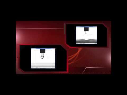 PaperChecker Film 2 - unterschiedliche Benetzung