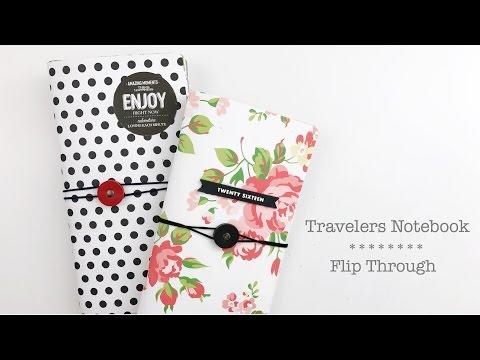 Travelers Notebook Flip Through | No.1