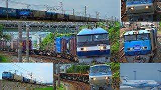 6月28.29日 昼間の東海道にSRC!! 遅れもたくさん東海道貨物列車 15本!