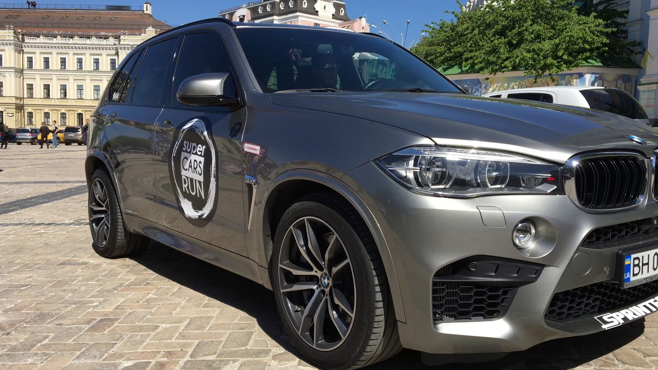 BMW F85 X5M best Akrapovic exhaust crazy sound