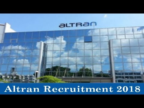 Altran Technologies Recruitment 2018 - Private Jobs - Jobs All Over India - Apply Now !