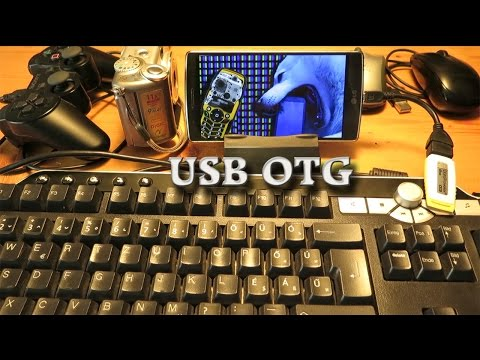 LG G Flex 2 USB OTG (On-The-Go) USB Host