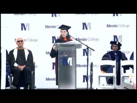 Mar Hershenson - Menlo College Commencement Speaker 2018
