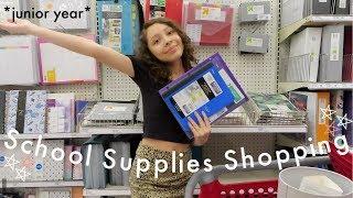 Back to School Supplies Shopping + Mini Haul! 2019