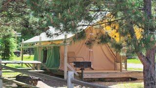 Camping in Michigan (Da Upper Peninsula): Paddler's Village