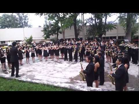buhos marching band mexico .mp4 vasquez sound  medley