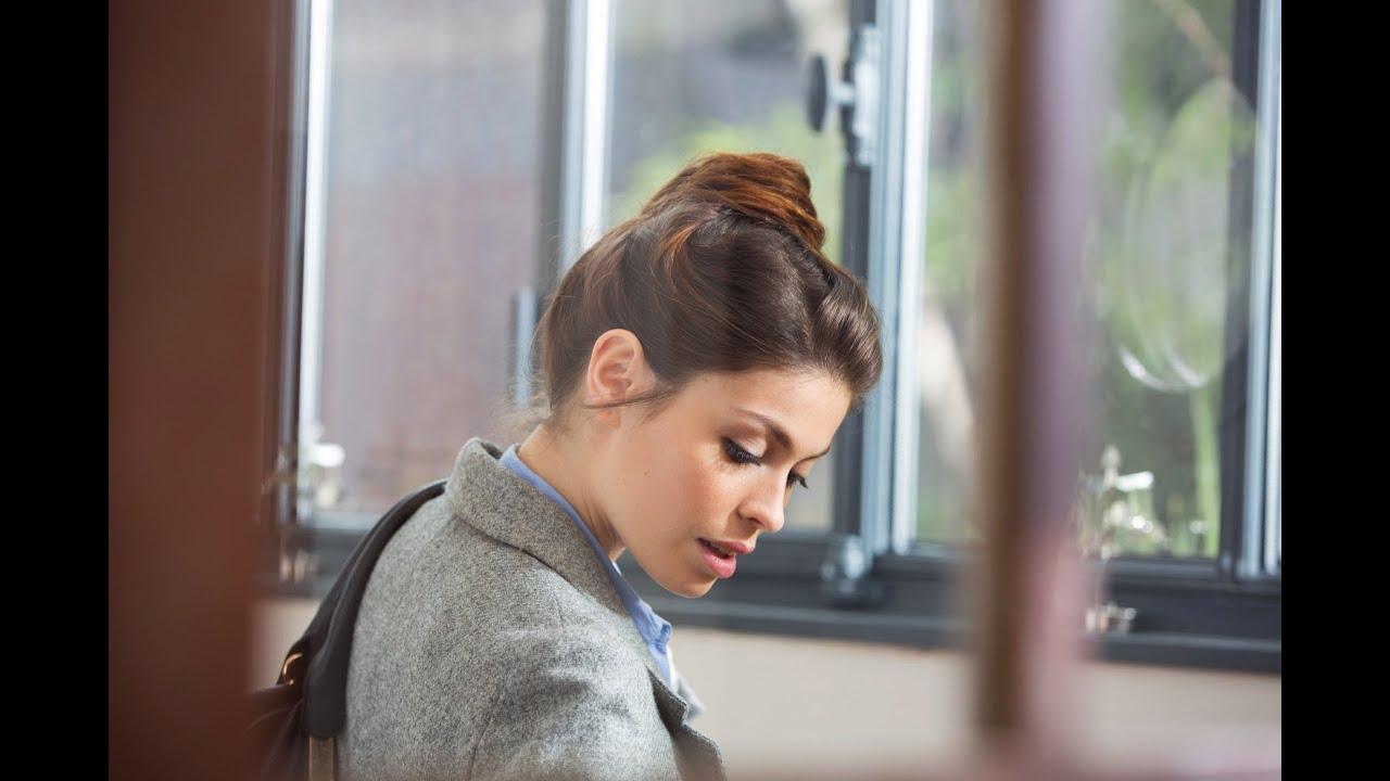 Le chignon haut façon \u0026quot;working girl\u0026quot; _ Tutoriel coiffure