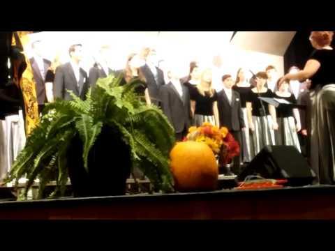 Ionia high school advanced choir