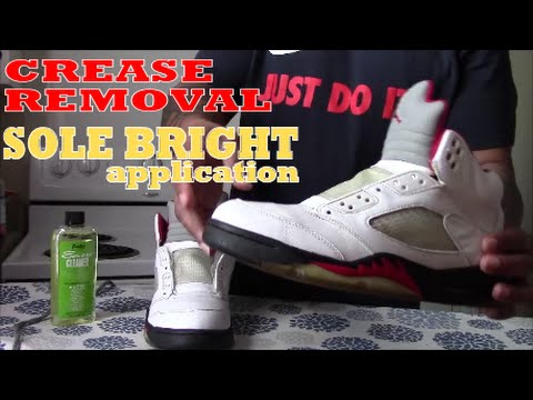 How To Restore Clear Sole and De-Crease