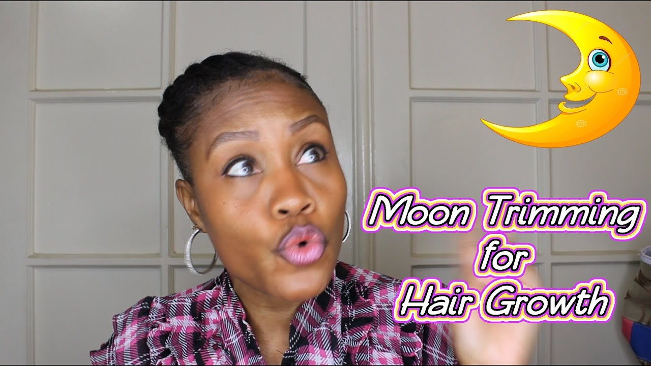 Moon Trimming For Fast Hair Growth Youtube