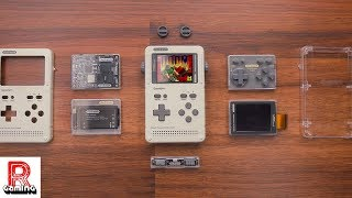 Game Shell Combines the Look of a Game Boy with a Clockwork PI