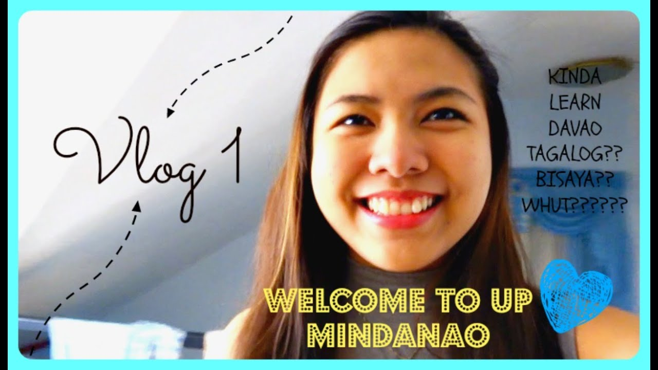 Vlog 1: WELCOME TO UP MINDANAO! LEARN BISAYA WORDS AND DAVAO TAGALOG!