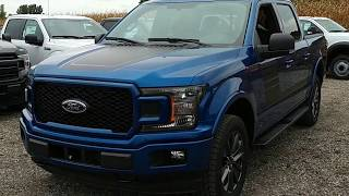 2018 Ford F 150 Sport at Mt  Brydges Ford