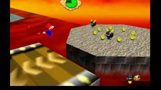 Super mario 64 - Red hot log rolling