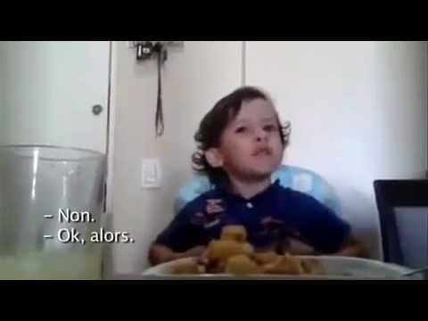 Le petit garçon qui ne voulait pas manger de viande