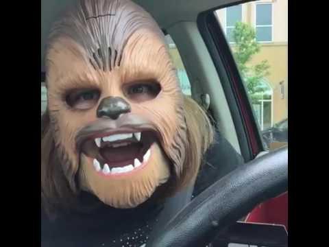I'm a Happy Chewbacca