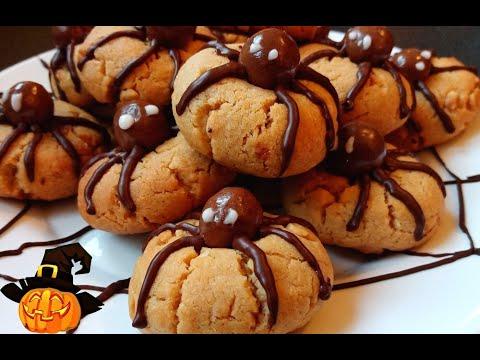 cookies-araignées-d'halloween-🍪🎃-/-halloween-spider-cookies