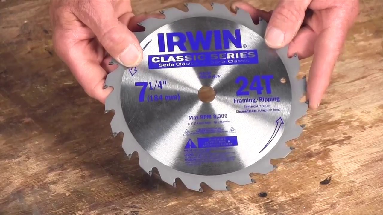 Choosing the best circular saw blade youtube choosing the best circular saw blade greentooth Image collections