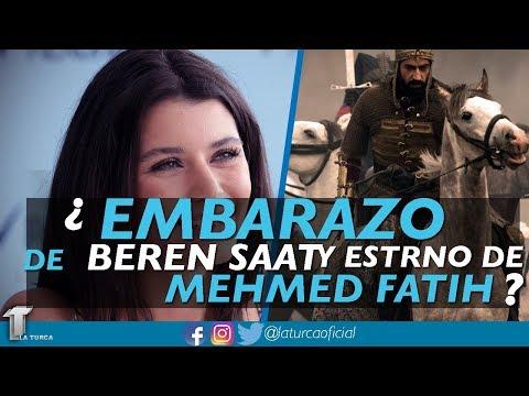Embarazo de Beren Saat, Esteno de Mehmed El Conquistador - La Turca