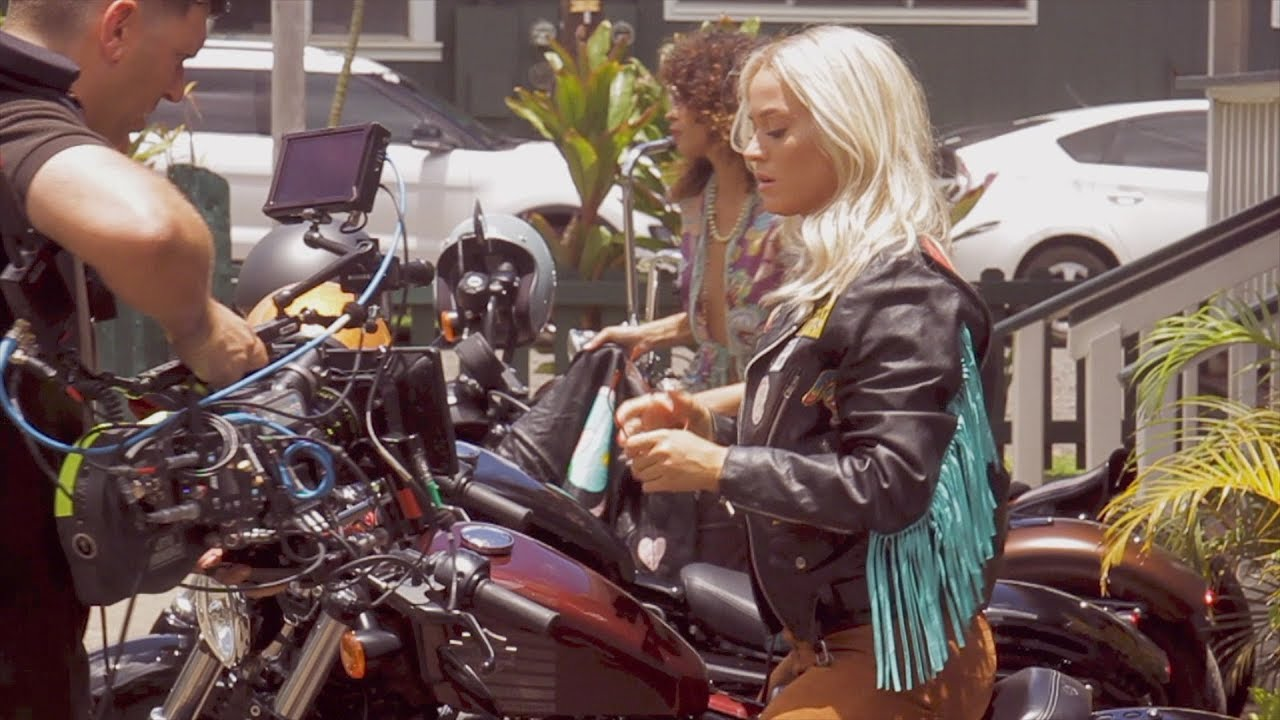 Katy Perry Making Of Harleys In Hawaii Music Video Youtube