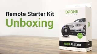 DroneMobile Remote Car Starter Kit (RS1B-AL) - Unboxing