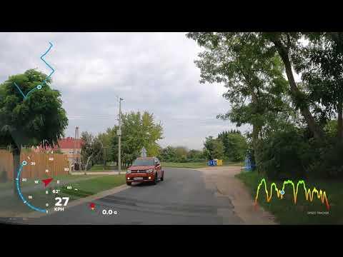 Gopro Hero 9 GPS test 25FPS Hypersmooth On