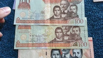 Currency special part 11: Dominican Republik Pesos / Dominikanische Republik Pesos