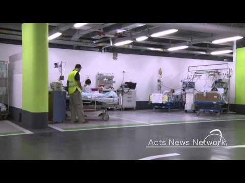 Israel's underground hospital signals war readiness